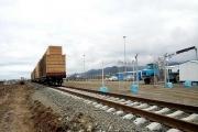 81 هزار و 899 تن کالا از راه آهن آستارا صادر شد