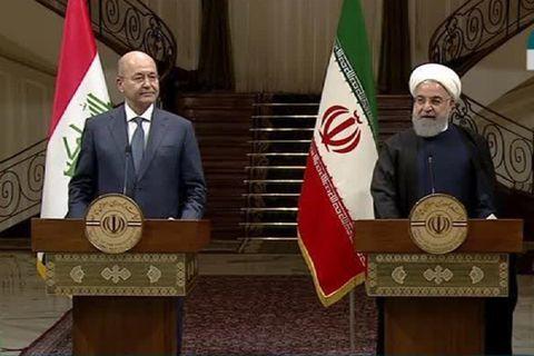 حجم روابط اقتصادی ایران و عراق به ۲۰ میلیارد دلار میرسد/کمک به جابجایی زوار ایرانی به عراق با اتصال خطوط راهآهن دو کشور