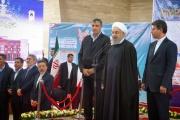 افتتاح راه آهن مراغه - ارومیه امروز با حضور رییس جمهور محترم/ گزارش تصویری جامع