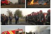 برگزاری مانور عملیاتی مقابله با آتش ، حوادث و سوانح ریلی