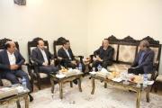 ديدار مديرعامل شركت راه آهن جمهوری اسلامي ايران با استاندار اصفهان