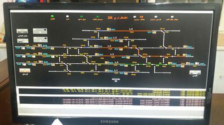 ارتقای ایمنی و سیستم علائم الکتریکی ایستگاه اضطراری ۲۶