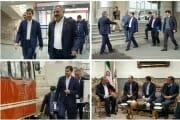 از پروژه دو خطه کردن راه آهن زنجان- قزوین و پروژه های شهرداری زنجان