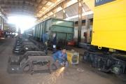 تعمیر اساسی ۳۴۹ واگن در راه آهن جنوب