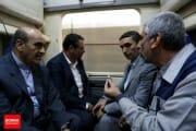 بازدید سرزده وزیر صنعت از شرکت واگن سازی پارس