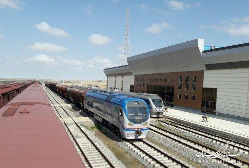 رشد 137 درصدي حمل و نقل بین المللی راه آهن منطقه شمالشرق 2 در 9 ماهه امسال