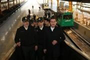 گزارش تصویری از مراسم افتتاح درزین پلیس راه آهن در ایستگاه تهران