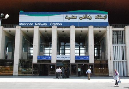 رشد ۱۷ درصدی تعداد زائران در مسیر ریلی مشهد مقدس