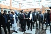 گزارش تصویری از بازدید رئيس و اعضای کمیسیون عمران مجلس از سایت راهآهن تهران
