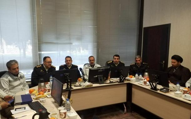 نشست هم اندیشی فرمانده پلیس راه آهن کشور با مدیر کل و رئیس پلیس راه آهن خراسان