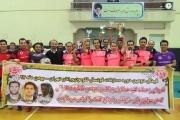دومین دوره مسابقات فوتسال لکوموتیورانان اداره کل راه آهن تهران