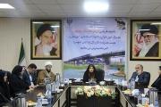 دیدار مدیر کل امور بانوان و خانواده استانداری خوزستان با مدیر کل راه آهن جنوب