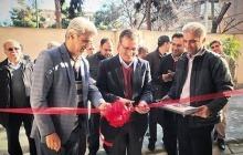 افتتاح خوابگاه مرکزی راه آهن