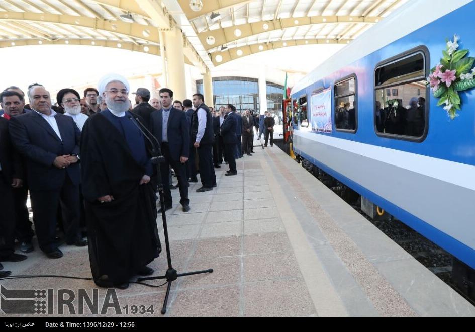 ظرفیت جابهجایی سالانه مسافران راهآهن به ۲۵ میلیون نفر رسید
