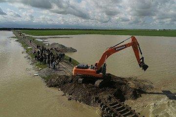 شروع عملیات بازسازی شکافهای راهآهن در نواحی سیلزده به محض کاهش سطح آب
