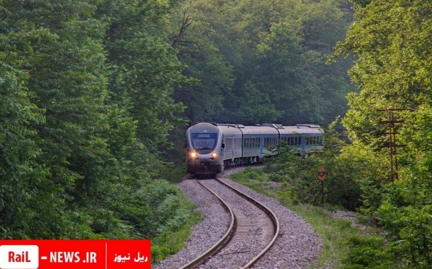 خط راه آهن محور شمال بازگشایی شد