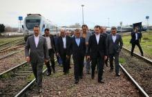 بازدید نوروزی مدیرعامل راه آهن از بخشهای مختلف ایستگاه راه آهن تهران
