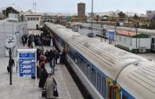 نخستین روز بدرقه مسافران نوروزی سال ۱۳۹۸ در ایستگاه راه آهن قم