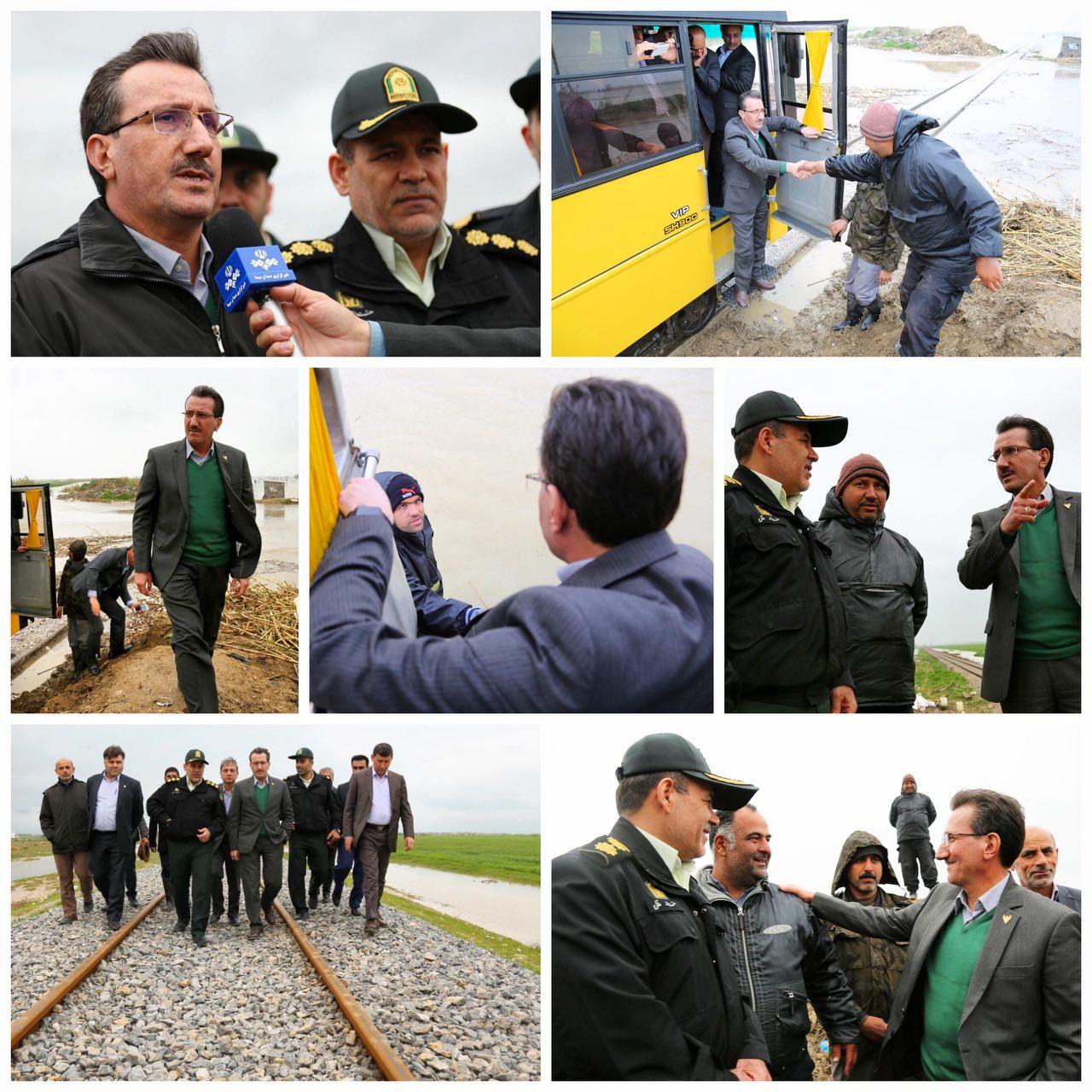 امداد رسانی و ایجاد آرامش، اولویت اول راه آهن / آماده باش و هماهنگی راه آهن با ستاد بحران / افزایش تولید لکوموتیو و واگن های مسافری و باری و ریل باس در انتهای سال ۹۸