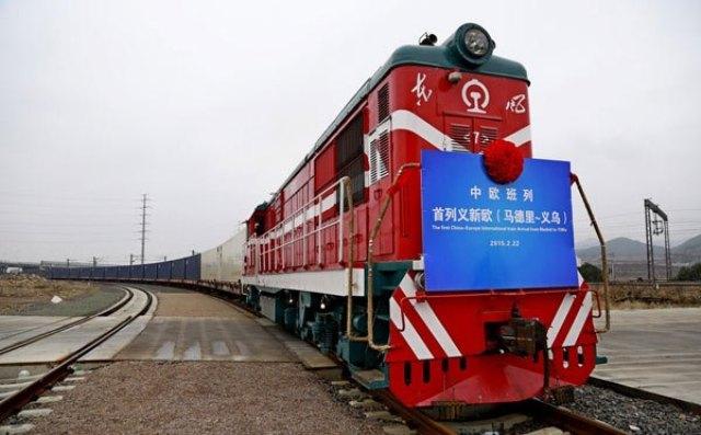 راه اندازی اولین خط ریلی اروپا و چین