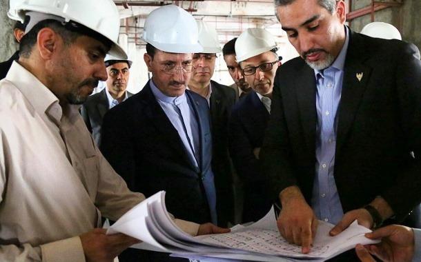بازدید مدیرعامل از ایستگاه راه آهن تهران و ساختمان شهید کلانتری / گزارش تصویری