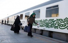 نخستین قطار پنج ستاره وارد خرمشهر شد
