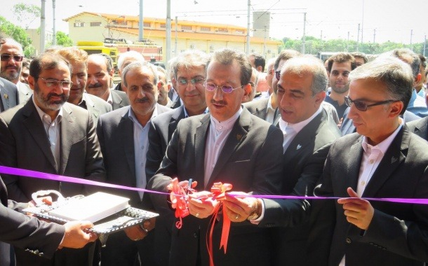 افتتاح سالن دپوی تعمیراتی لکوموتیو تبریز