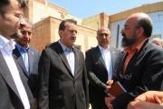 رویدادها و بازدیدهای روز دوم سفر مدیرعامل راه آهن ج.ا.ا به استان آذربایجان شرقی