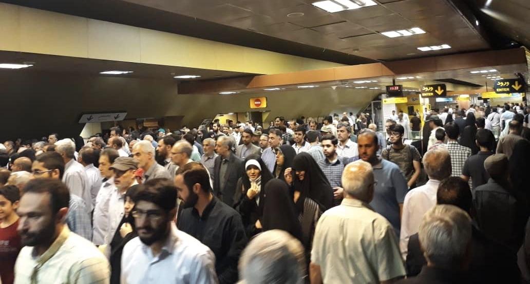استفاده 410 هزار نفر از متروي تهران در روز جهاني قدس