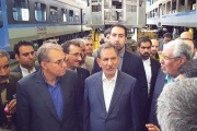 بزرگترین خط تولید و تست واگن مترو کشور به بهرهبرداری رسید