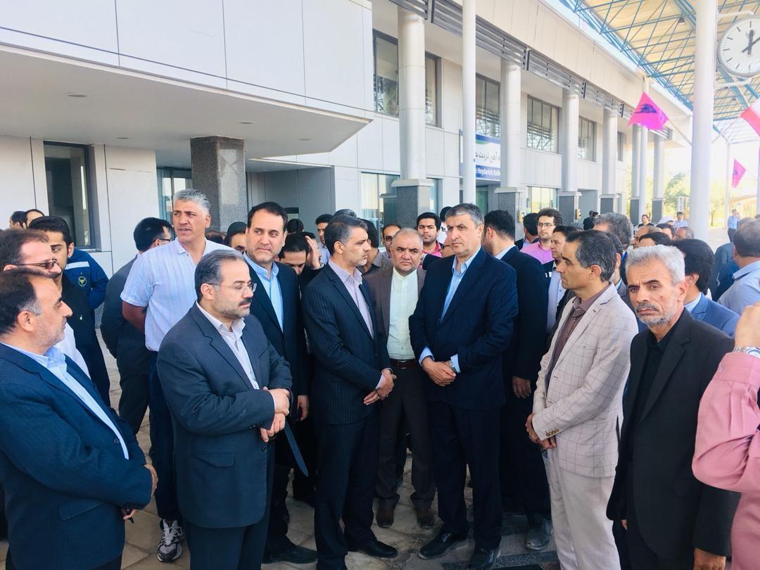 بازدید وزیر راه و شهرسازی از راه آهن خواف – هرات