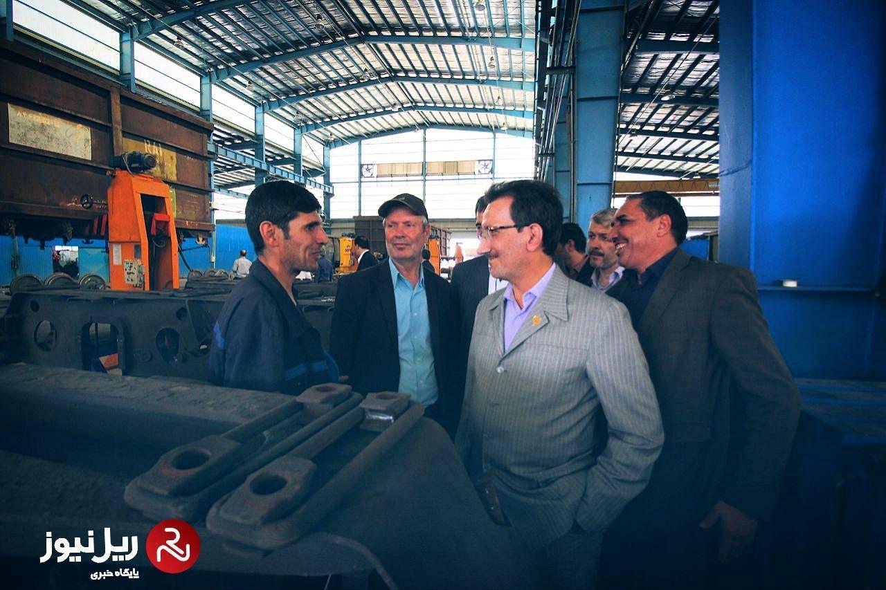 مشکلات کارکنان قراردادی شرکت راه آهن روی میز بررسی
