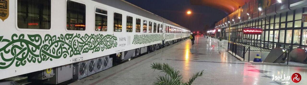 ساعت حرکت قطار طبس – مشهد تغییر کرد