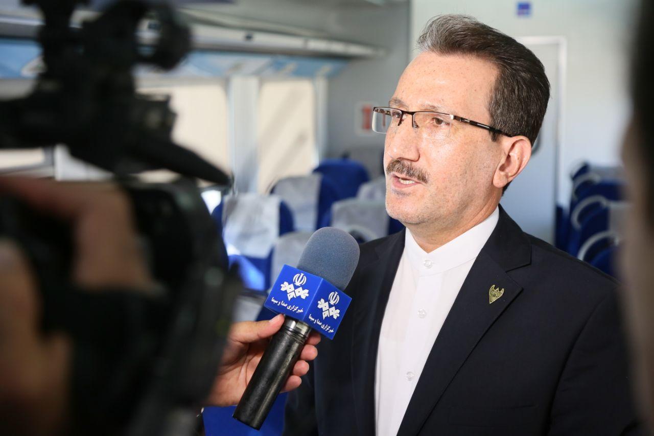 پیشرفت فیزیکی پروژه ۴ خطه تهران – پیشوا به ۷۹ درصد رسیده است