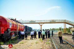 بهره برداری از مخزن ریلی آتش نشانی در اداره کل راهآهن قم