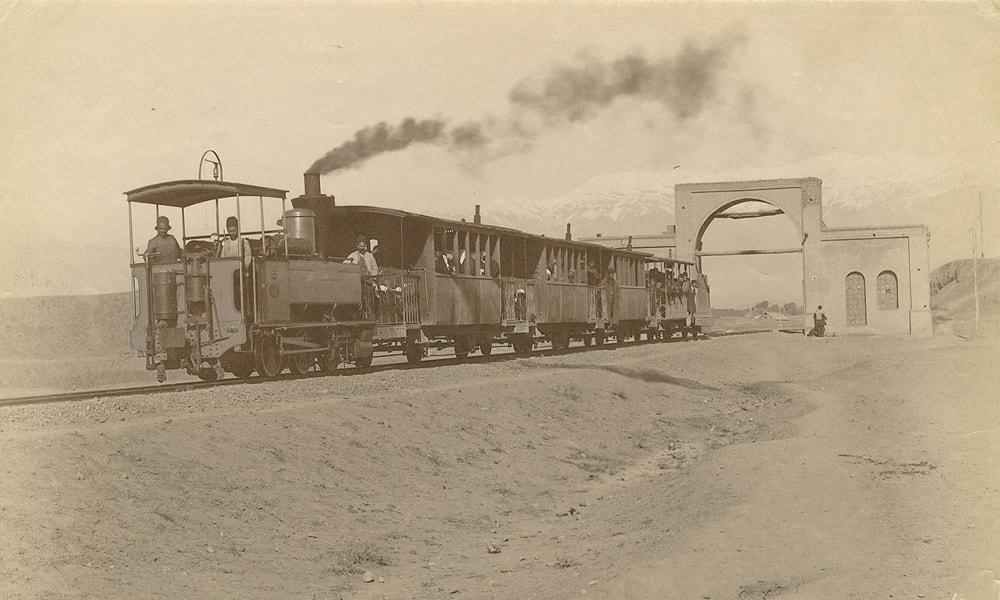 خلاصه ای از تاریخچه ورود راه آهن به ایران
