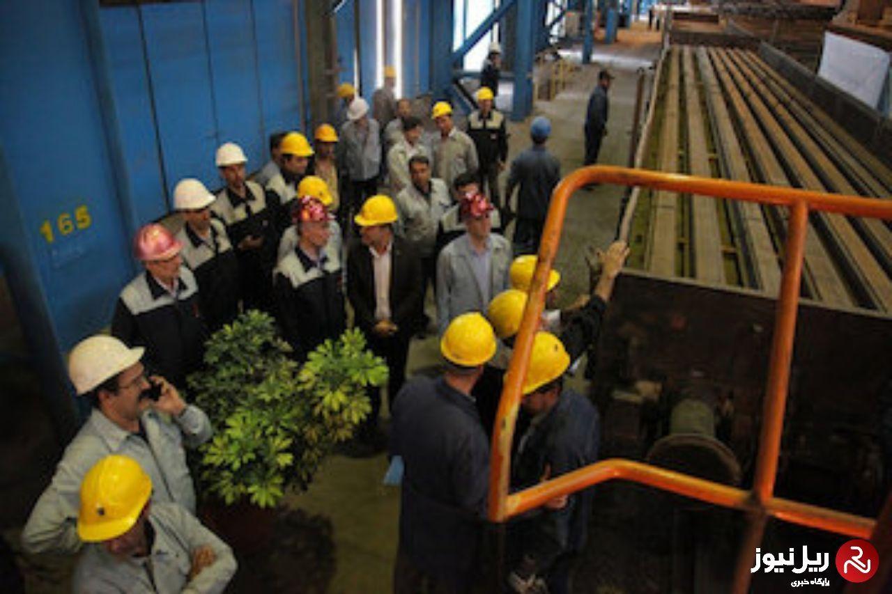 نخستین محموله ریل قطارهای پرسرعت تولید داخل به شرکت ساخت و توسعه زیربناهای حملونقل تحویل شد