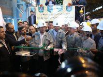 ریل ملی ذوب آهن از اصفهان به سوی تبریز بارگیری شد