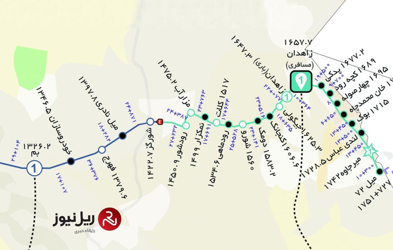 در حادثه خروج قطار از ریل در حوالی زاهدان ۳۵ مسافر مصدوم و ۳ نفر جان خود را از دست داده اند.