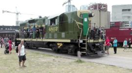 موزه قطار شهر تورنتو ( کانادا ) و پارک Roundhouse
