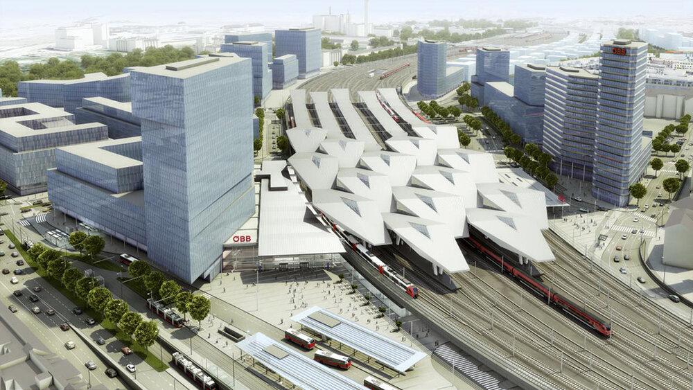 پایدارترین ایستگاه راه آهن اروپا در وین