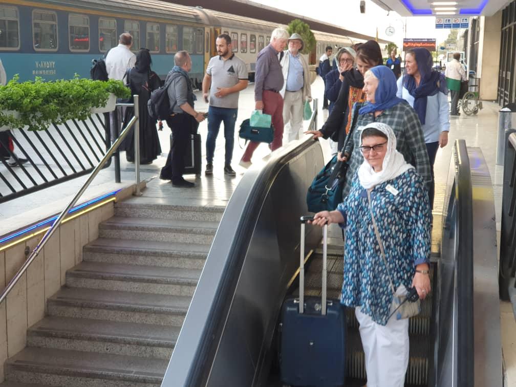 ورود بیست و نهمین قطار گردشگری بین المللی عقاب طلایی به ایران