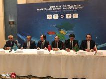 مشارکت ایران در راه اندازی کریدور چین به اروپا/راهاندازی کریدور ریلی جدید مشترک میان ایران و کشورهای منطقه برای نخستین بار