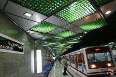 خدمات شرکت بهره برداری متروی تهران و حومه به شرکتکنندگان در پیاده روی اربعین تهران