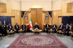 اتصال راهآهن رشت به آستارا را با همه توان دنبال میکنیم | هدف آمریکا انزوای ایران است