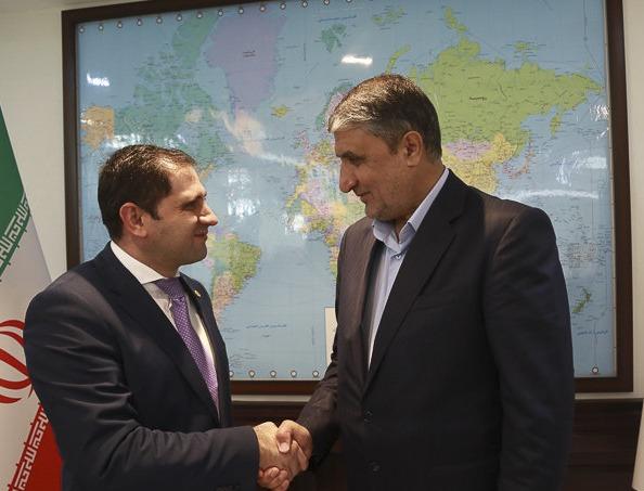 شرط وزیر راه و شهرسازی برای آغاز عملیات اجرایی قطعه داخلی راهآهن ایران-ارمنستان