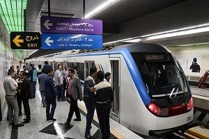 خدمات رسانی رایگان مترو به شرکت کنندگان راهپیمایی