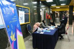"""برپایی کارگاه هنر"""" کاغذ و تا"""" در ایستگاه تهران (صادقیه)"""