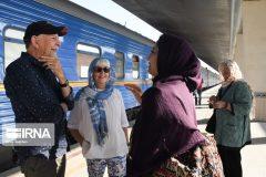مشهد مقصد نهایی سفر ریلی مسافران خارجی است