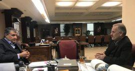 دستور وزیر راه بر تسریع اتصال بندر کاسپین به خط ریلی